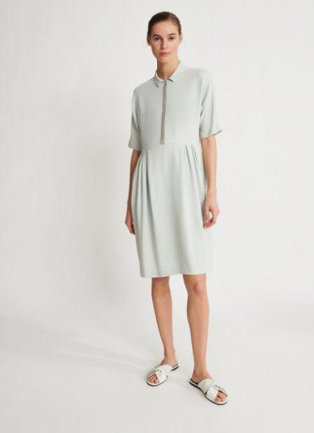 Fabiana Filippi letní šaty s krátkým rukávem
