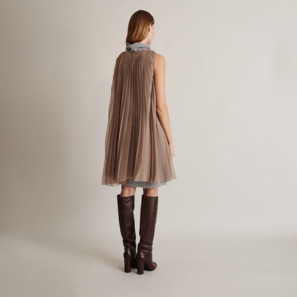 Fabiana Filippi šaty s drobnymi flitry
