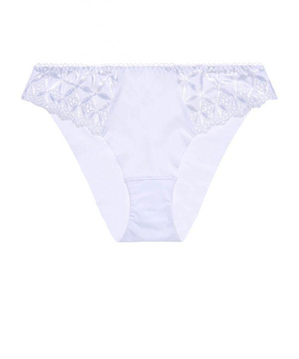 Klasické kalhotky Aubade Bahia bílé