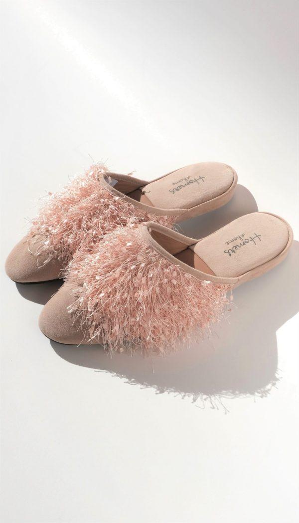 Luxusní dámské pantofle Homers