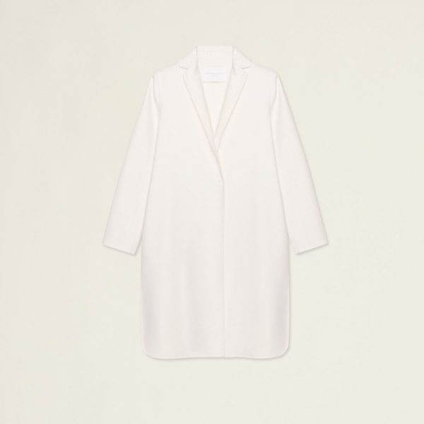 Overcoat Fabiana Filippi Wool and Silk