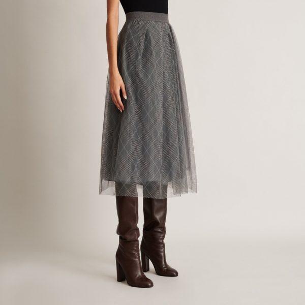 Tylová sukně Fabiana Filippi